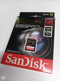 Sigilate! Originale! Card memorie Sandisk Extreme PRO 128GB U3 4K
