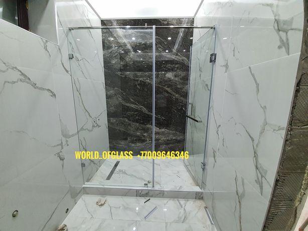 Душевая перегородка толщина стекла 08мм 10мм