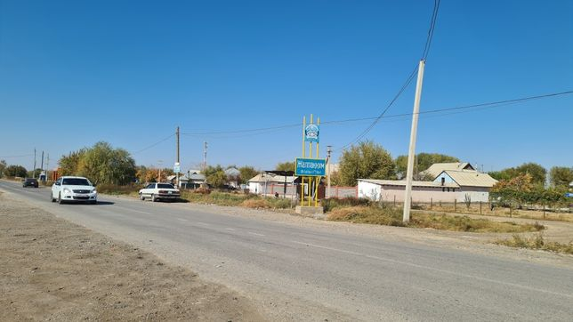 Жер, Участок сатылады Қызылқұм а/о Жалпаққұм ауылы ( Сталин ауылы)