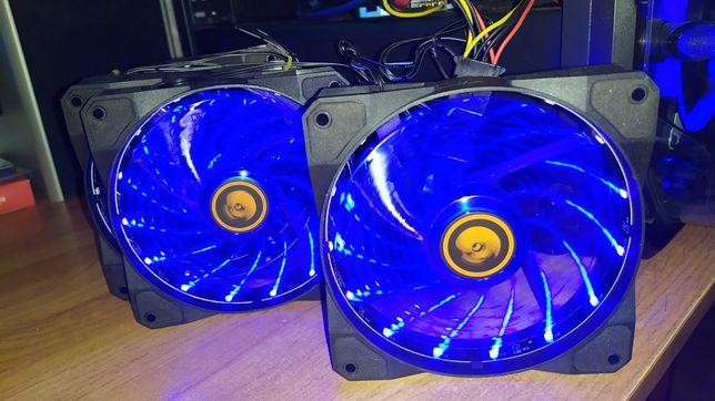 Вентиляторы охлаждения 12см rgb ,molex,3pin.