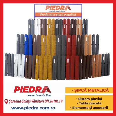 Sipca Metalica Gard Producator