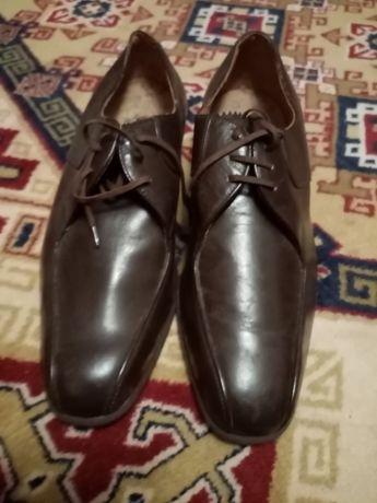 Pantofi bărbătești din piele naturală