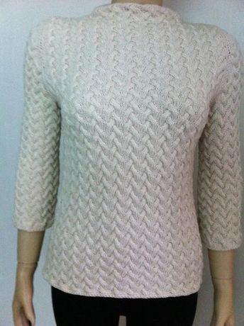Pulover (bluza) din casmir 100% (unicat handmade)
