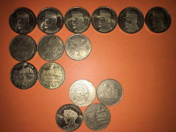 Monede 50 bani comemorative, ed. limitata
