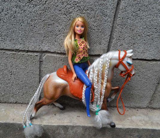 кукла барби и лошадь набор  у куклы ножки шарнирные mattel lol