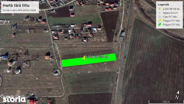 Agigea-Halta CFR teren 5 000 mp