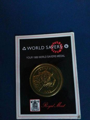 Медал на World Savers 1989 г