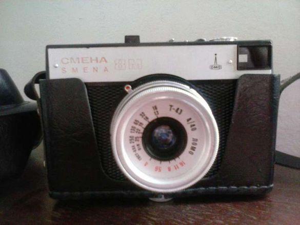 Фотоапарат Смена 8 М + калъф