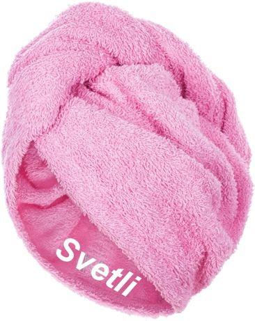 Мека хавлиена кърпа за глава