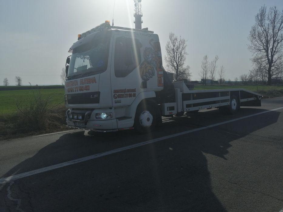 Transport Auto Tractări autoutilitare Tractari Camioane Galati - imagine 1