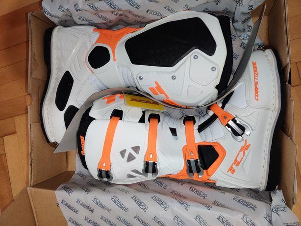 Cizme Enduro Motocross TCX Comp Evo Boots noi