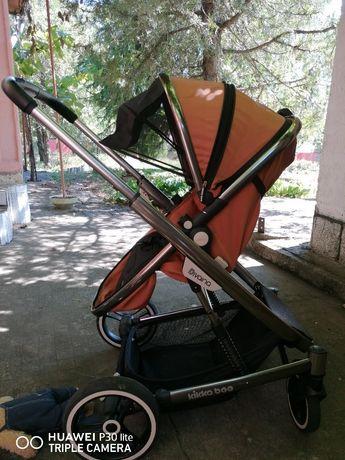 Комбинирана количка kikka boo divaina+чанта