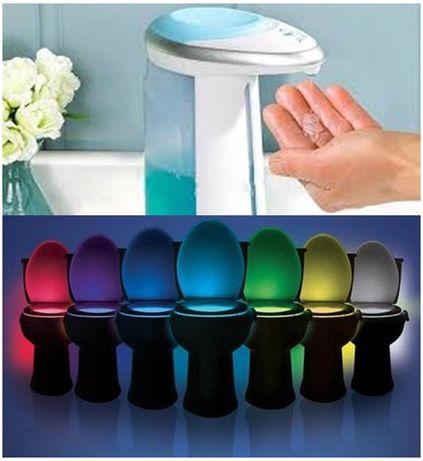 Dozator automat pt sapun lichid Soap Magic + CADOU: LightBowl