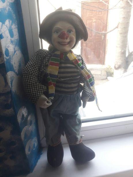 Кукла клоун ссср советский