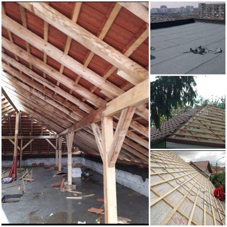 Montaj acoperisuri, reparatii, modificari in imprejurimi