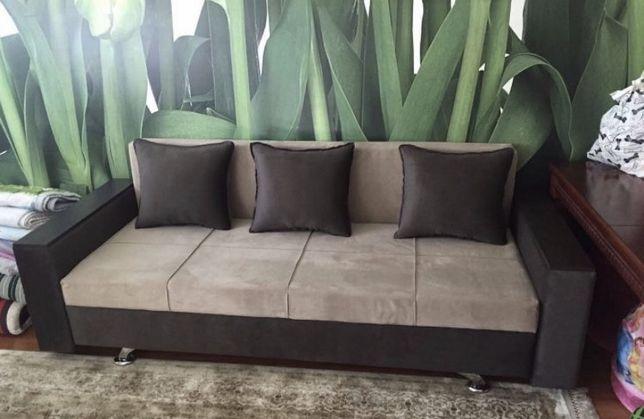 НОВЫЙ! Прямой диван, раскладной, с ящиком, раздвижной,в гостинную