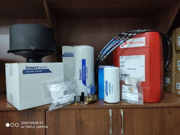 Запасные части для винтового компрессора