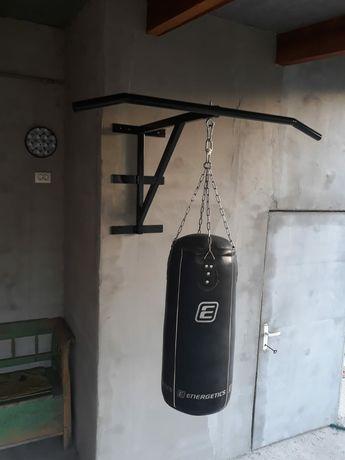 Suport sac de box perete cu bara de tractiune
