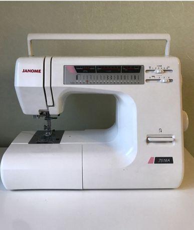 Швейная машинка Janome 7518 A, Япония