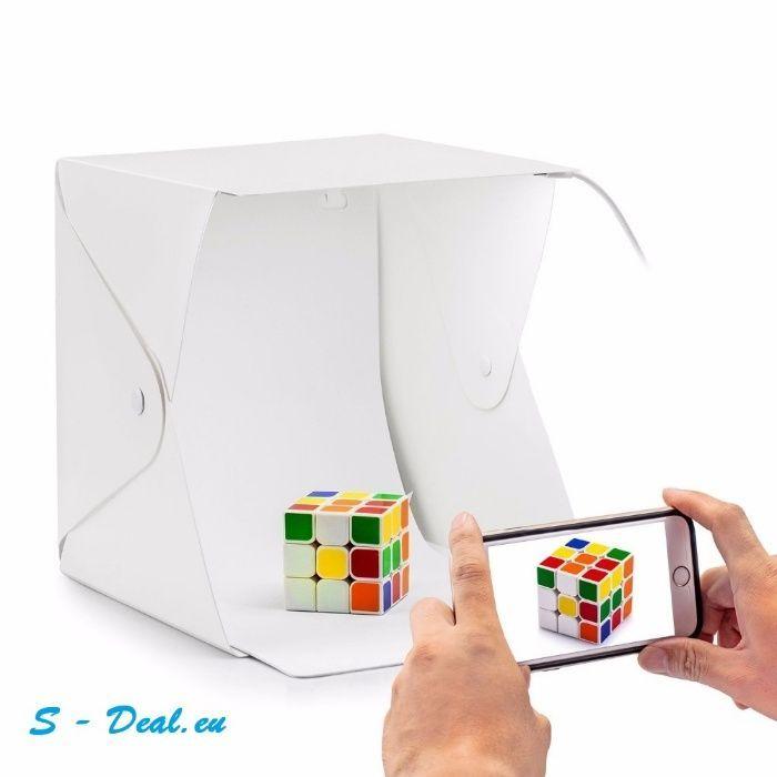 Фото кутия / студио за предметна фотография 20   30   40 см