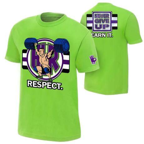 WWE! Детски кеч тениски на Сина Cena, Orton, Jericho! Или с ТВОЯ ИД ЕЯ
