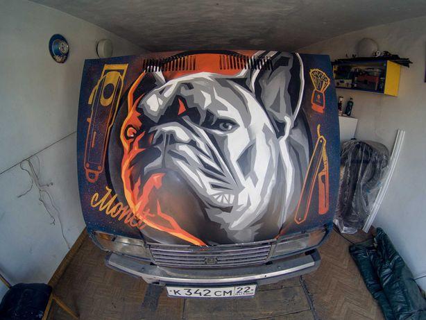 Роспись стен • Граффити