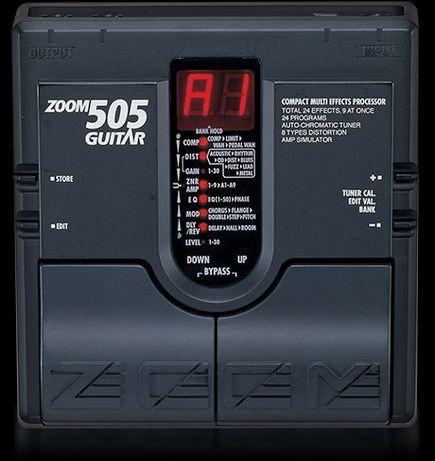 Procesor chitara zoom 505