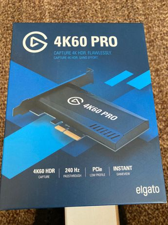 Placa captura Elgato Game Capture 4K60 Pro / Nou - Sigilat