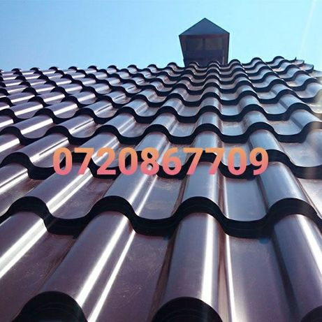 Reparatii acoperisuri montaj tigla metalica dulgherie