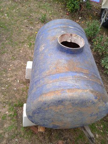 Bazin fibra de sticla 350l de pe instalatie purtata stropit via