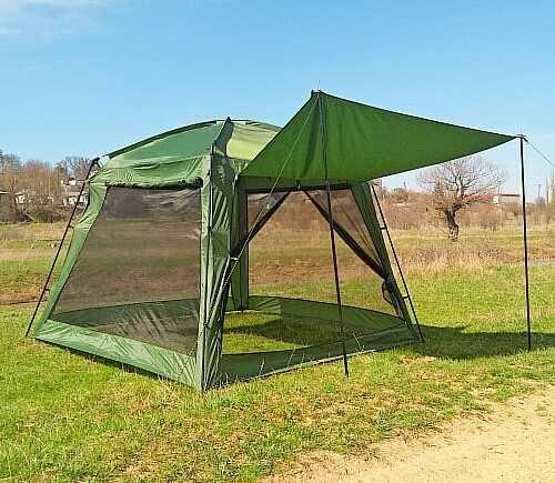 Люкс шатер палатка просторный высокий без пола на 5-7 персон