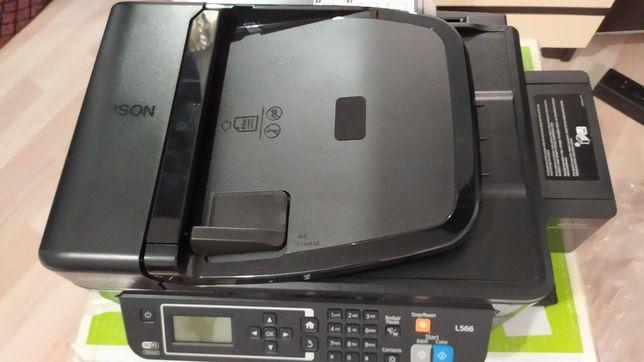 МФУ принтер, сканер, копир Epson L566 А4 новый