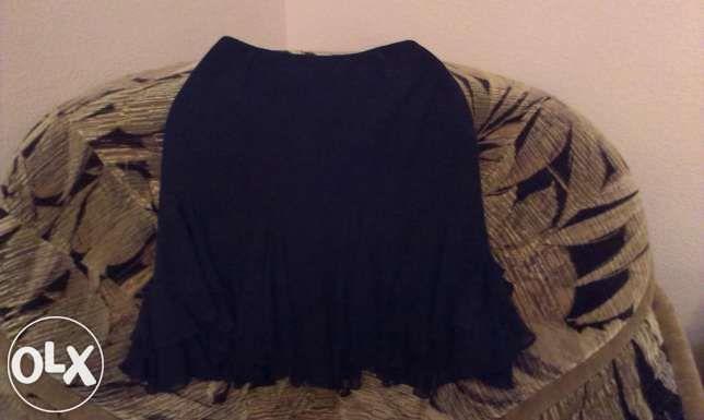 Продам шифоновую юбку с воланами
