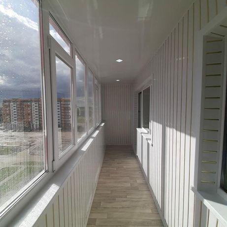 Обшивка балкона, утепление, за 1 день