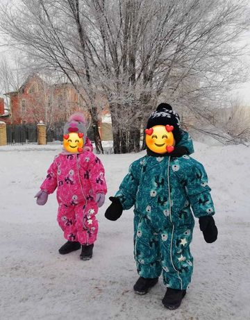 Комбинезоны детские ,зима .