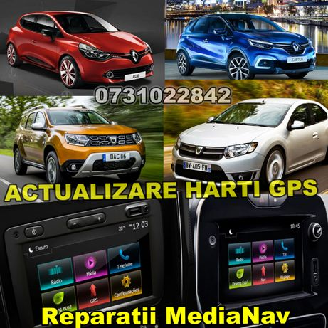 Actualizare Harti/Modificare/Reparare Navigatie Dacia/Renault/Opel