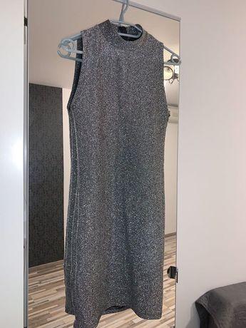 Rochie argintie Zara