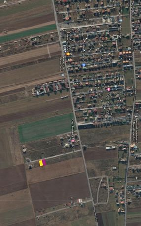 Parcele teren de vanzare 500 si 600 mp, Com. Tarlungeni, Jud. Brasov.