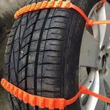 Пластиковые хомуты на колеса Авто помогут выбраться из снега и грязи