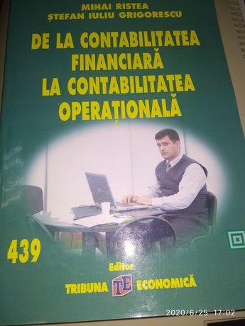"Cartea ""De la contabilitatea financiara la contabilitatea operationala"