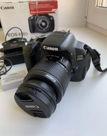 СРОЧНО Продам фотоаппарат Canon 650d