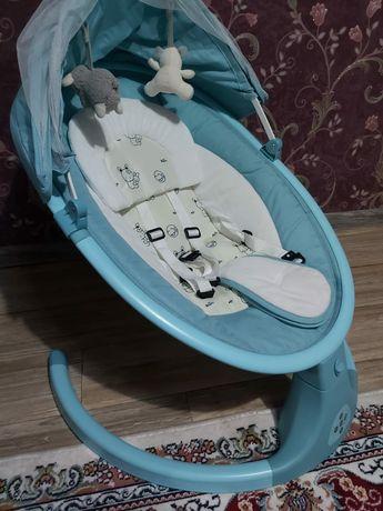 Электрокачеля для малыша с рождения.
