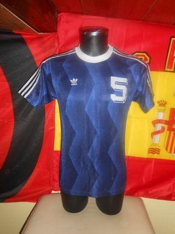 tricou fotbal trikot adidas retro vintage 80s #5 #7