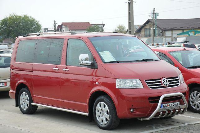 VW Caravelle T5 2007, 2.5TDi 131 CP E4 automat DSG 8+1 locuri, FULL