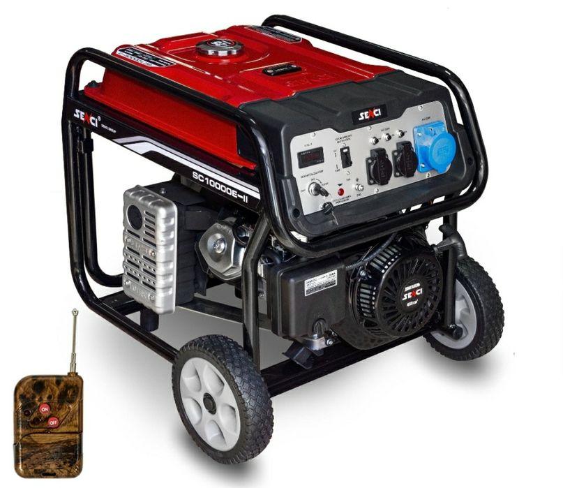Генератор 8.5 кВт бензиновый движок Шымкент - изображение 1