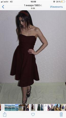Платье ручной пошив, с камушками