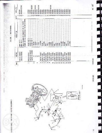 cartii excavatoare komatus si Hyundai pc 2900lc-3