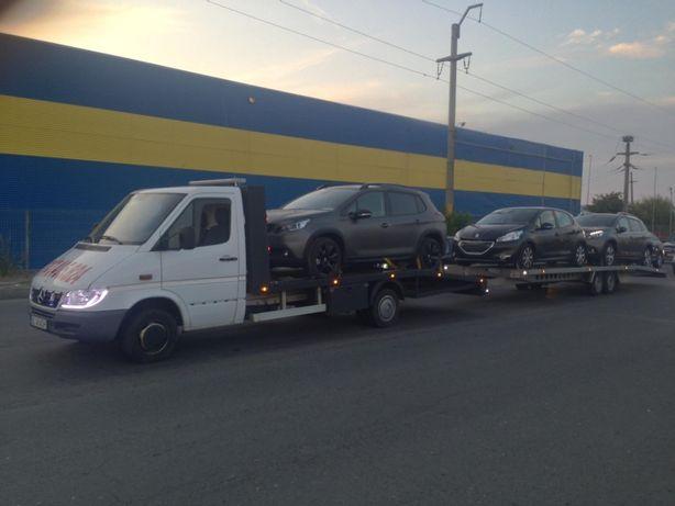 Tractari Galati 24/7 !!! Platforma auto Galati, trailer auto !!!