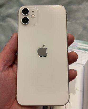 Iphone 11 64 GB wite на гарантии