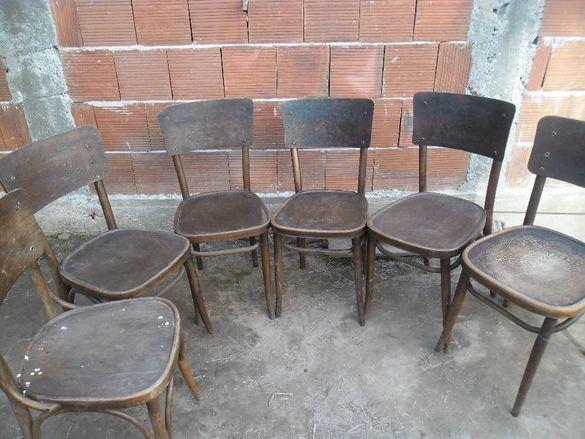 6 бр виенски столове